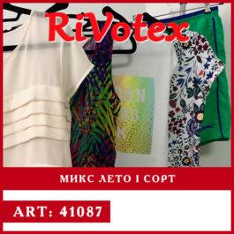 Летняя одежда на секонд хенде - 1 сорт - оптовые цены фото - склад - оптом - оптовая продажа