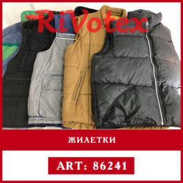 теплая одежда хорошого качества жилетки оптом секонд rivotex